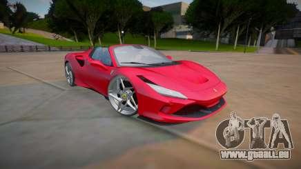 Ferrari F8 Spider 2021 (good model) pour GTA San Andreas
