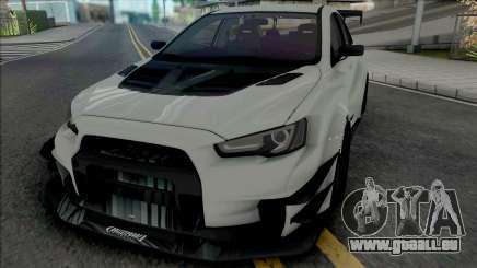 Mitsubishi Lancer Evolution X (SA Lights) pour GTA San Andreas