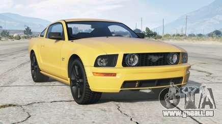 Ford Mustang GT 2005〡schwarze Felgen〡add-on für GTA 5