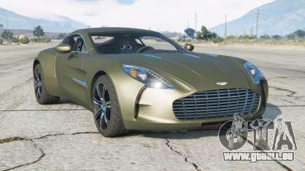 Aston Martin One-77 2010 v2.0 pour GTA 5