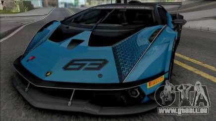 Lamborghini Essenza SCV12 pour GTA San Andreas