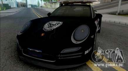 Porsche 911 Turbo 2014 Police pour GTA San Andreas