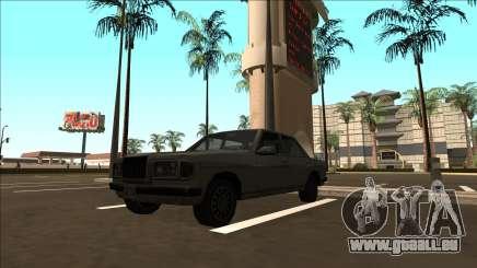 Amiral à traction arrière pour GTA San Andreas