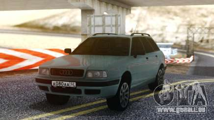 Audi 80 RUS Plates für GTA San Andreas