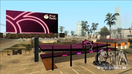 iFruit Radio Store pour GTA San Andreas