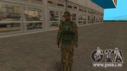 Officier Fsb CSN SSO (version Panamka) pour GTA San Andreas