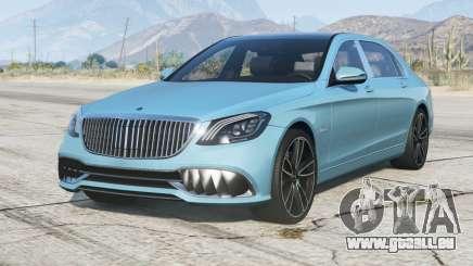 Mercedes-Maybach Rolfhartge MR 500 (X222) 2018〡add-on pour GTA 5
