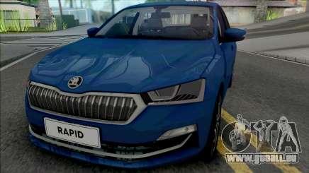 Skoda Rapid 2019 für GTA San Andreas