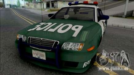 Police Civic Cruiser für GTA San Andreas