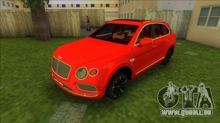 Bentley Bentayga 2021 pour GTA Vice City