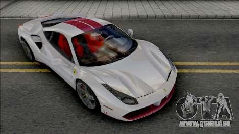 Ferrari 488 GTB 70th Anniversary pour GTA San Andreas