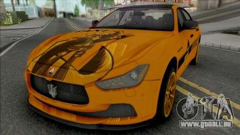 Maserati Ghibli III Taxi (Carbon) pour GTA San Andreas
