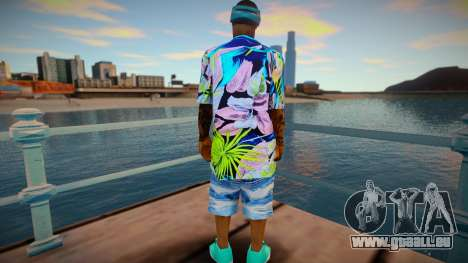 Afro pour GTA San Andreas