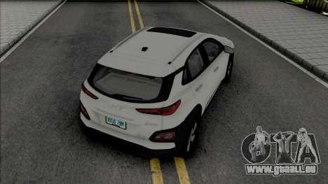 Hyundai Encino EV 2019 pour GTA San Andreas