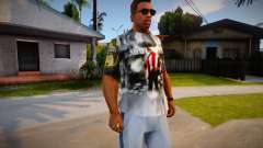 Daddy Yankee T-Shirt for CJ pour GTA San Andreas