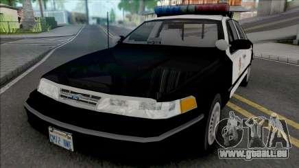 Ford Crown Victoria 1995 CVPI LAPD v2 pour GTA San Andreas