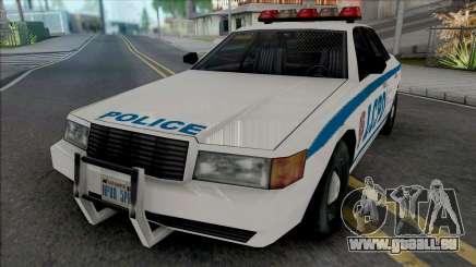 Vapid Stanier LCPD [SA Style] für GTA San Andreas