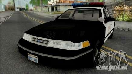 Ford Crown Victoria 1995 CVPI LAPD pour GTA San Andreas