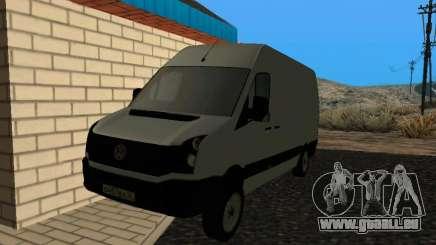Volkswagen Crafter light - Cargo version pour GTA San Andreas