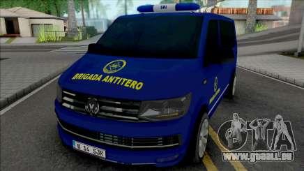 Volkswagen Transporter SRI Brigada AntiTero pour GTA San Andreas