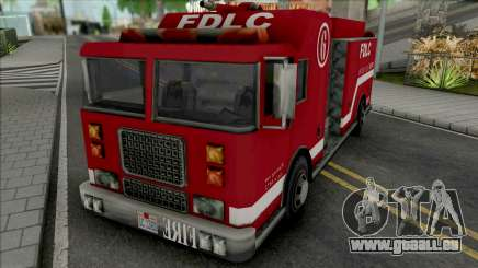 Firetruck from GTA LCS für GTA San Andreas