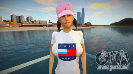 Fille dans des vêtements à la mode pour GTA San Andreas