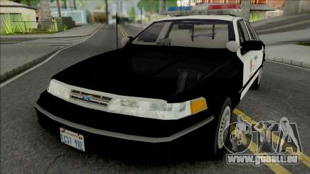 Ford Crown Victoria 1997 CVPI LAPD pour GTA San Andreas