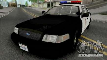 Ford Crown Victoria 2011 CVPI LAPD pour GTA San Andreas