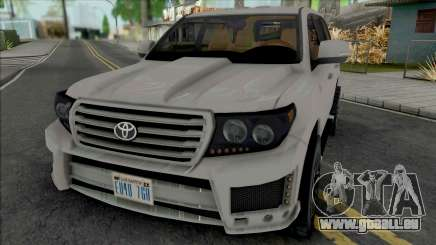 Toyota Land Cruiser 2015 Lowpoly pour GTA San Andreas