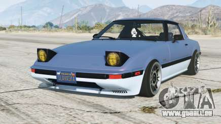 Mazda RX-7 GSL-SE (SA) 1985 pour GTA 5