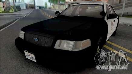 Ford Crown Victoria 2007 CVPI LAPD GND pour GTA San Andreas