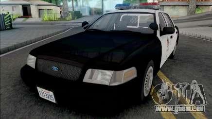 Ford Crown Victoria 2000 CVPI LAPD v2 für GTA San Andreas