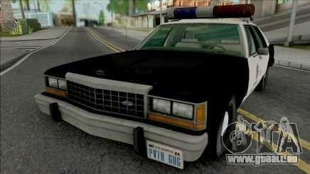 Ford LTD Crown Victoria 1987 LAPD pour GTA San Andreas