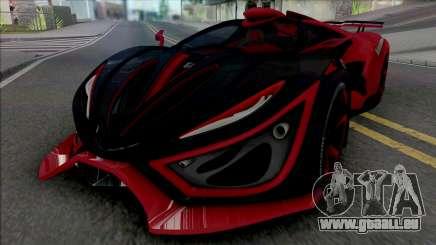 Inferno Exotic Car 2016 für GTA San Andreas