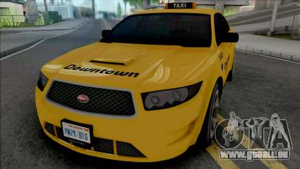 Vapid Torrence Taxi Downtown v2 pour GTA San Andreas