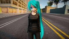 PDFT Hatsune Miku Cute outfit für GTA San Andreas
