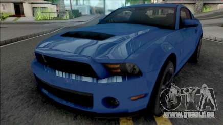 Ford Mustang Shelby GT500 2010 für GTA San Andreas