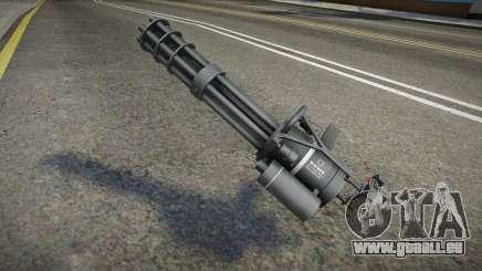 Quality Minigun für GTA San Andreas