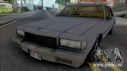 Chevrolet Caprice 1989 LAPD Unmarked pour GTA San Andreas