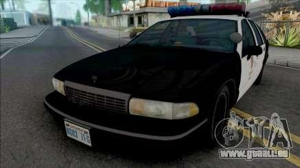 Chevrolet Caprice 1993 LAPD pour GTA San Andreas