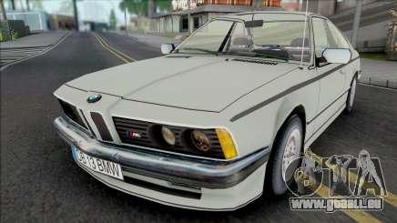 BMW M6 E24 White für GTA San Andreas