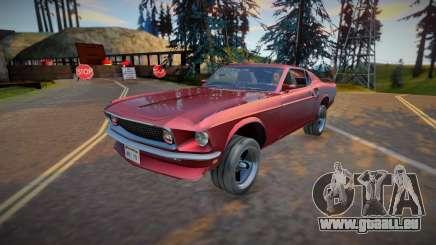 1969 Ford Mustang Boss 302 (good model) für GTA San Andreas