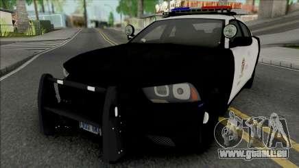 Dodge Charger 2012 LAPD für GTA San Andreas