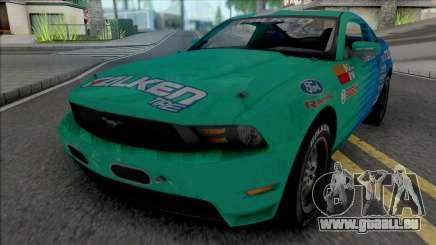 Ford Mustang GT 2010 Formula Drift Falken Tire für GTA San Andreas