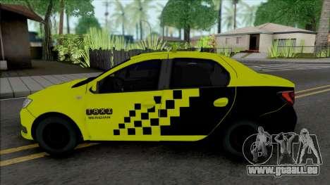 Dacia Logan 2020 Taxi pour GTA San Andreas