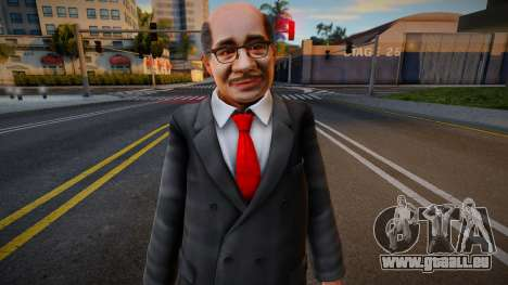 Dead Or Alive 5 - Train Man 2 pour GTA San Andreas