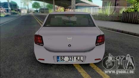 Dacia Logan Mk2 2020 pour GTA San Andreas