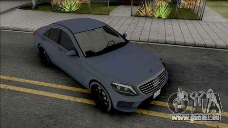 Mercedes-Benz S63 AMG 2014 Japan SA Style v2 für GTA San Andreas