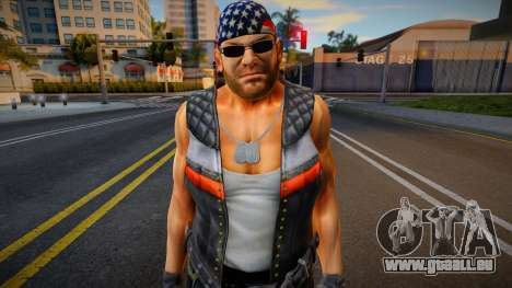 Dead Or Alive 5 - Bass Armstrong (Costume 1) 1 pour GTA San Andreas