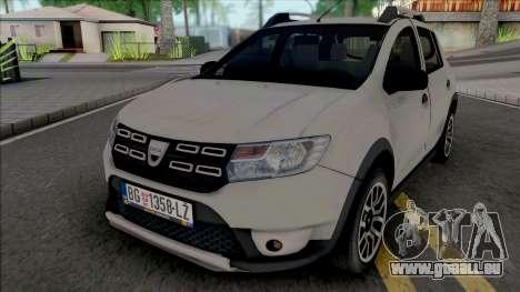 Dacia Sandero Stepway 2018 pour GTA San Andreas